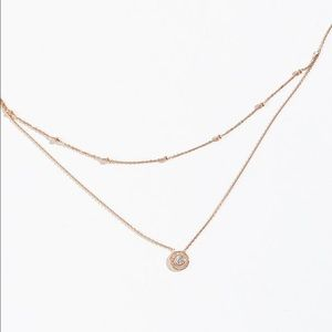 14K Rose Gold Layered Necklace
